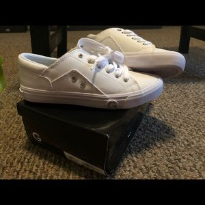 Guess shoes all white brand new in box!